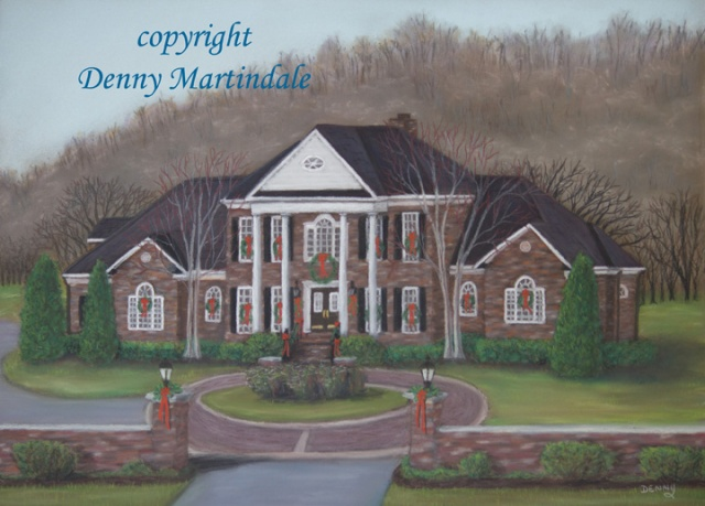 House painting, pastel painting, architectural painting